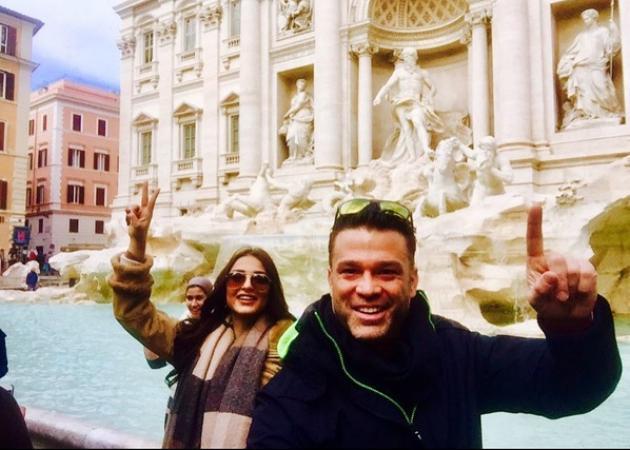 Κώστας Σόμμερ – Ναυσικά Παναγιωτακοπούλου: Ρομαντική εξόρμηση στην Ιταλία!