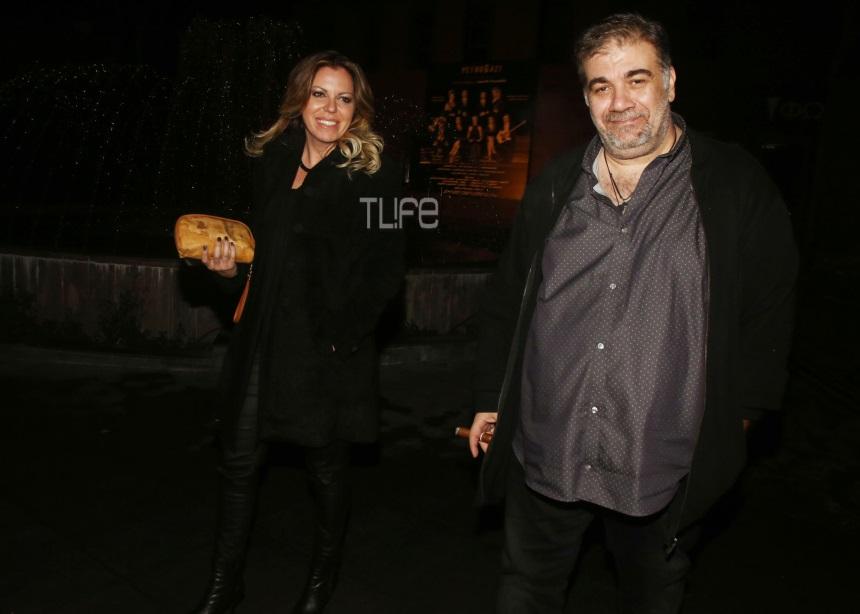 Δημήτρης Σταρόβας: Σπάνια δημόσια εμφάνιση με τη σύντροφό του [pics] | tlife.gr