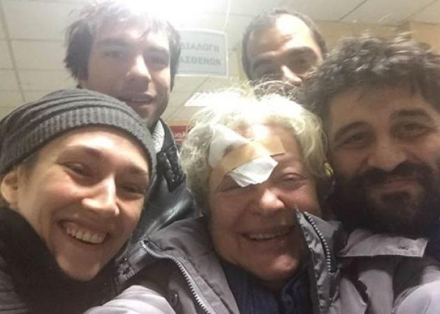 Στο νοσοκομείο μετά από τραυματισμό η Τάνια Τσανακλίδου! [pic]