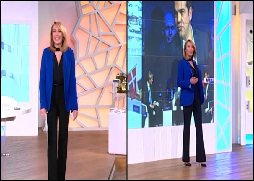 Το look της Τατιάνας σήμερα (24/1) | tlife.gr