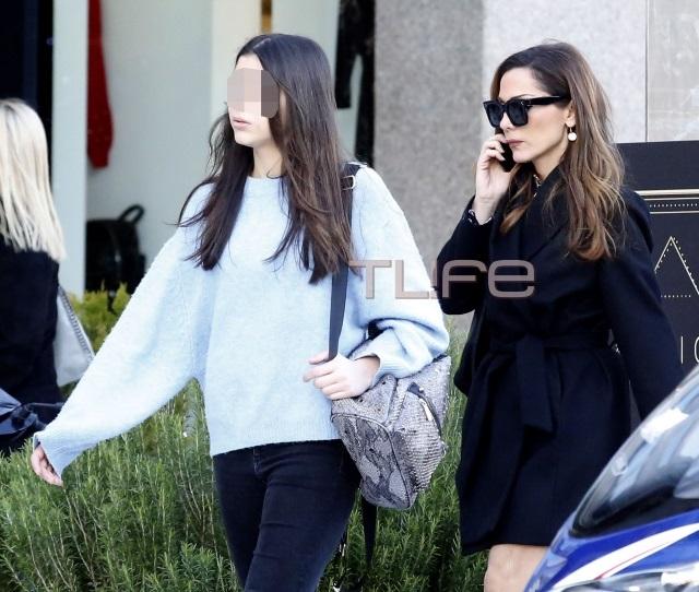 Δέσποινα Βανδή: Αχώριστη με την κόρη της, Μελίνα! [pics] | tlife.gr
