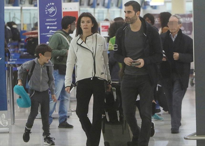 Μαρίνα Βερνίκου – Μίλτος Καμπουρίδης: Γιορτινή εξόρμηση με τα παιδιά τους [pics]   tlife.gr