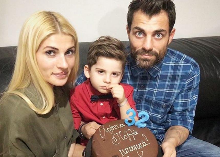 Στέλιος Χανταμπάκης: Τα πρώτα βήματα της κόρης του και τα γενέθλιά του!   tlife.gr