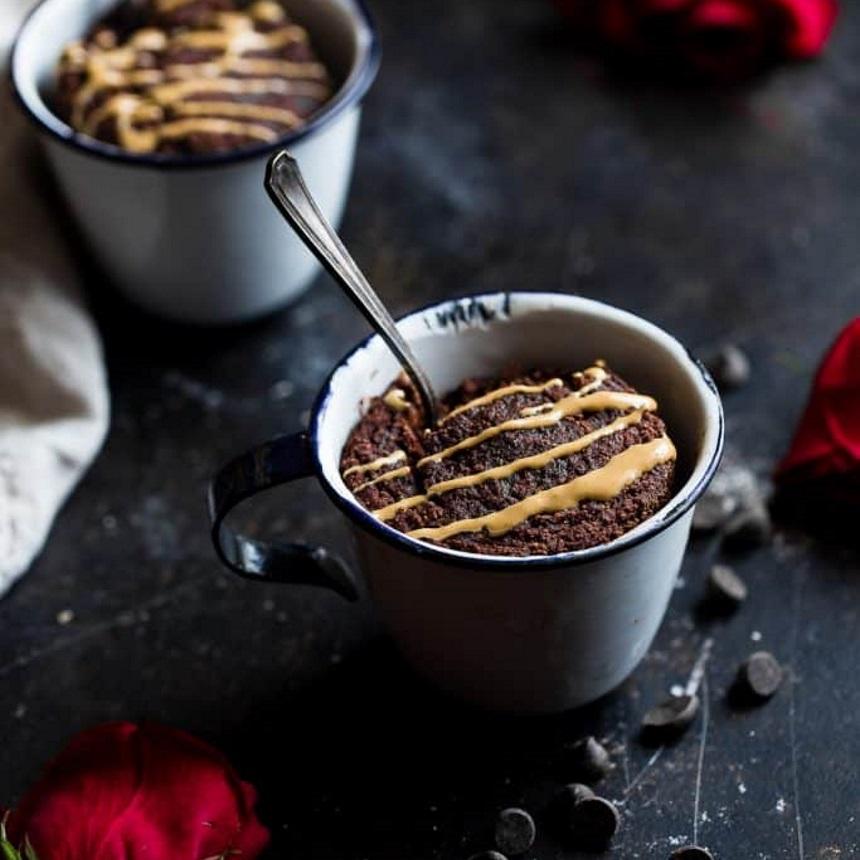 Σοκολατένιο brownie στην κούπα