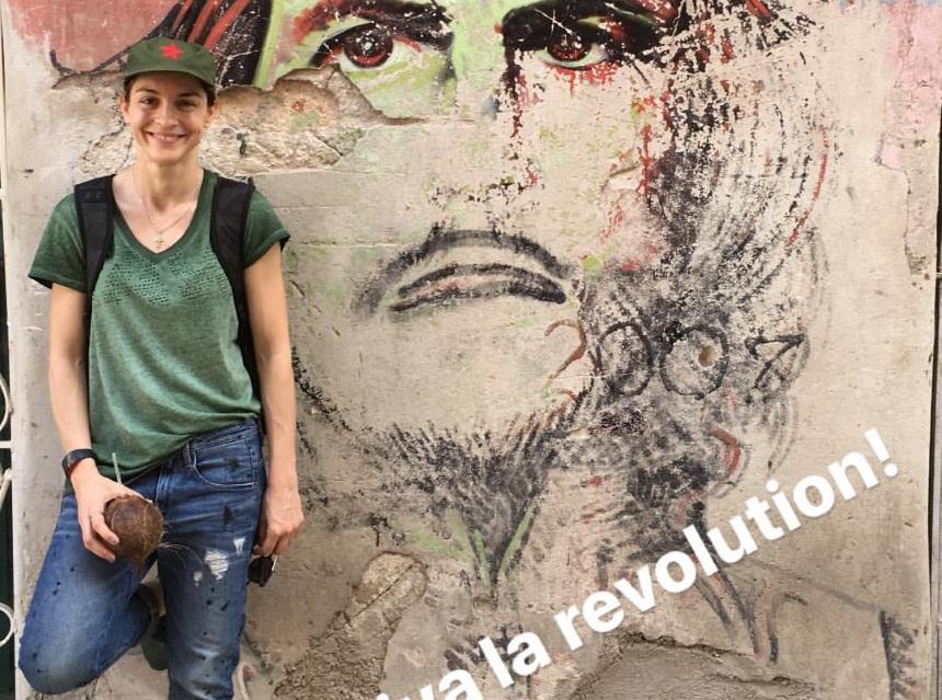 Γιούλικα Σκαφιδά: Απόδραση στην Κούβα! [pics]   tlife.gr