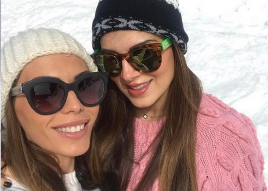 Σταματίνα Τσιμτσιλή – Αντώνης Σρόιτερ: Στα χιόνια με τις οικογένειες τους! [pics] | tlife.gr