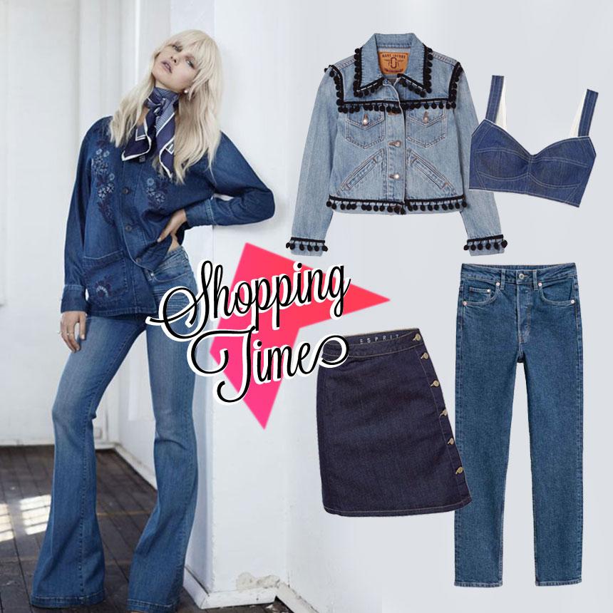 6c5be7bac8c Τα καλύτερα τζιν ρούχα της αγοράς για να φορέσεις τώρα και τη νέα ...