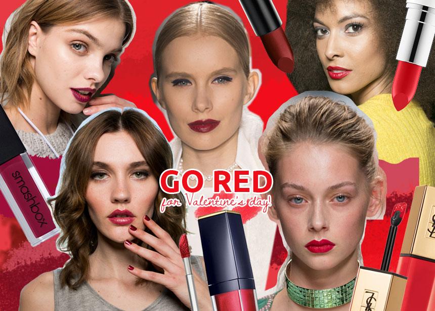 Τα 7 καλύτερα, κατακόκκινα και ολοκαίνουρια κραγιόν που μπορείς να φορέσεις του Αγίου Βαλεντίνου! | tlife.gr
