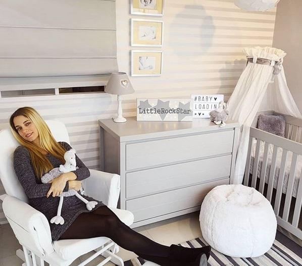 Δούκισσα Νομικού: Ο πίνακας ζωγραφικής για το δωμάτιο του γιου της! | tlife.gr
