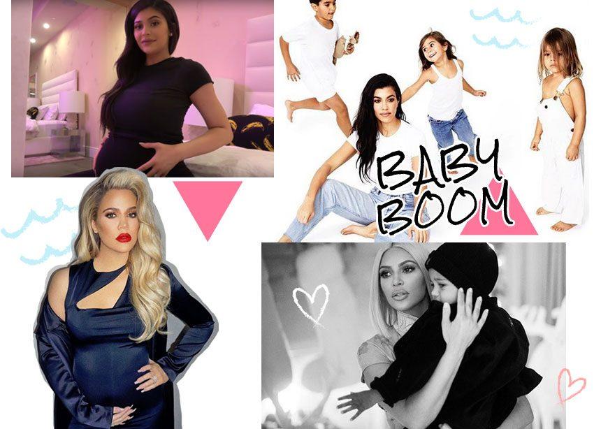 "Baby boomers: Αυτοί είναι οι ""χρυσοί"" διάδοχοι της οικογένειας Kardashian-Jenner! | tlife.gr"