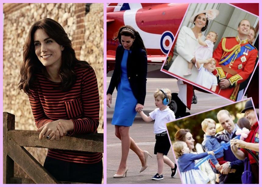 """5 φορές που η Kate Middleton μας έδειξε τη σύγχρονη μητέρα που """"κρύβει"""" μέσα της   tlife.gr"""