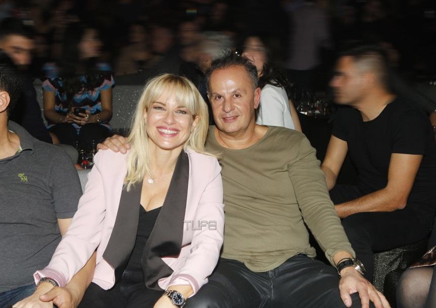Μαρία Μπεκατώρου – Αντώνης Αλεβιζόπουλος: Πάντα μαζί στις βραδινές εξόδους! [pics]