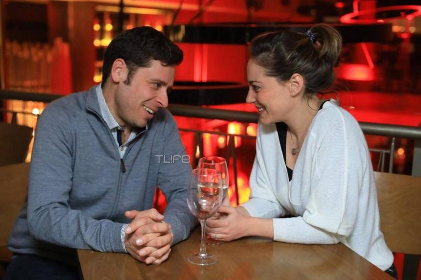 Αλεξάνδρα Ούστα – Γιάννης Σαρακατσάνης: Ρομαντικό δείπνο για δύο! [pics] | tlife.gr