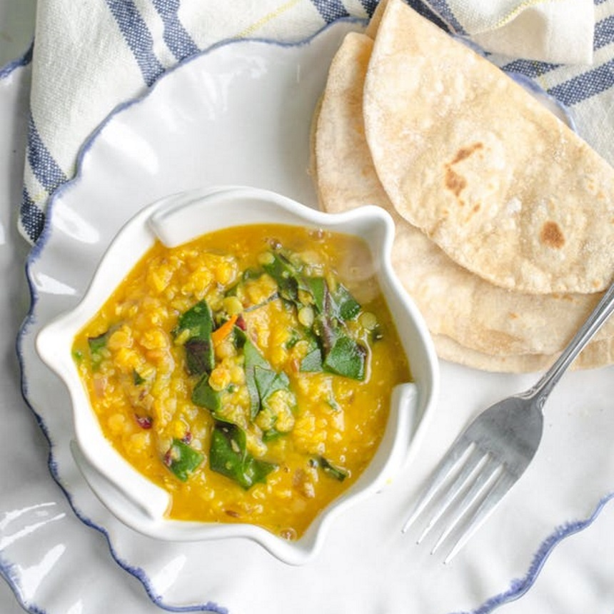Αρωματική σούπα με φακές και ανατολίτικα μπαχαρικά
