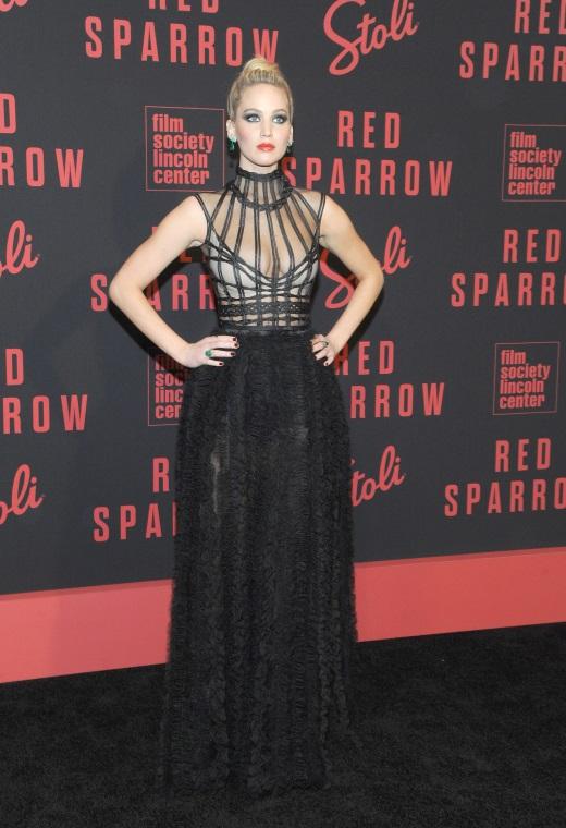 Η Jennifer Lawrence με Christian Dior