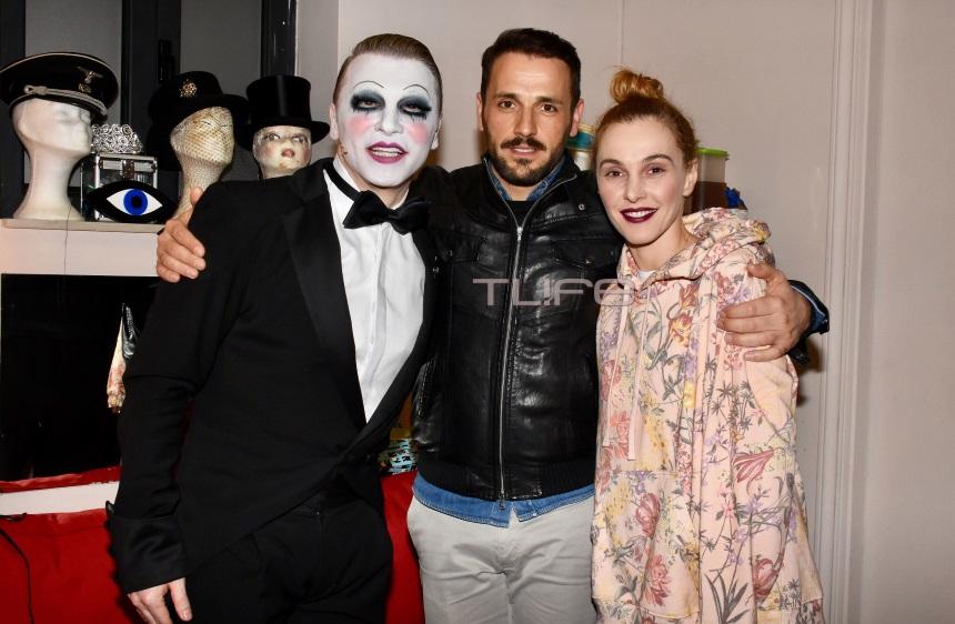 Νίκος Βέρτης: Απόλαυσε στο θέατρο Παλλάς την Τάμτα και τον Τάκη Ζαχαράτο! | tlife.gr