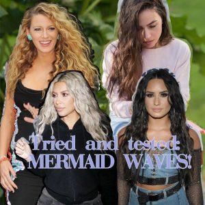 Τα beachwaves είναι ξεπερασμένα! Τα νέα beachwaves είναι τα mermaid waves και τα δοκιμάσαμε!
