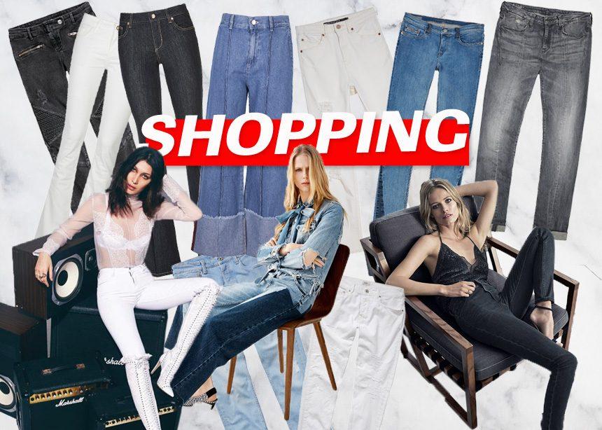 Τα τζιν της νέας σεζόν: Οι τέλειες επιλογές που θα βρεις στην αγορά σε μπλε, μαύρο και λευκό χρώμα | tlife.gr