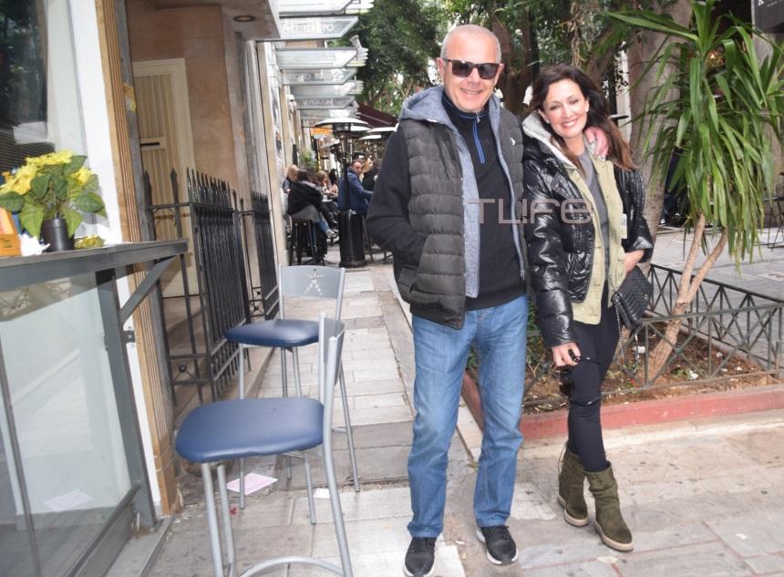 Δημήτρης Σταυρόπουλος: Σπάνια εμφάνιση με την σύζυγό του, λίγο μετά τον γάμο τους! | tlife.gr