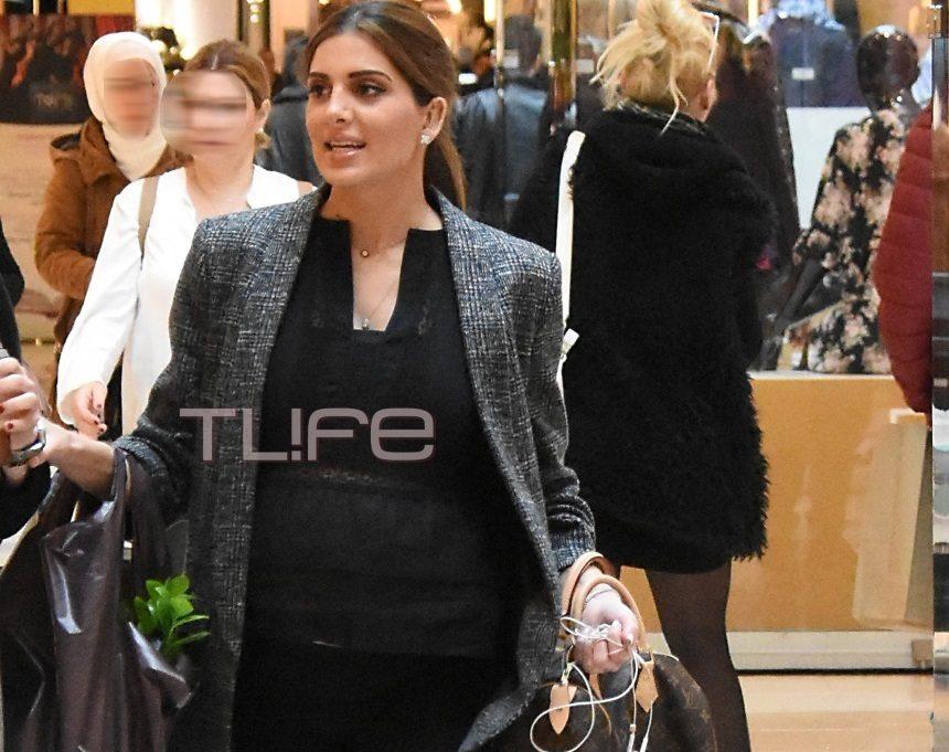 Σταματίνα Τσιμτσιλή: Βόλτες και ψώνια στον 7ο μήνα στην εγκυμοσύνης της![pics] | tlife.gr