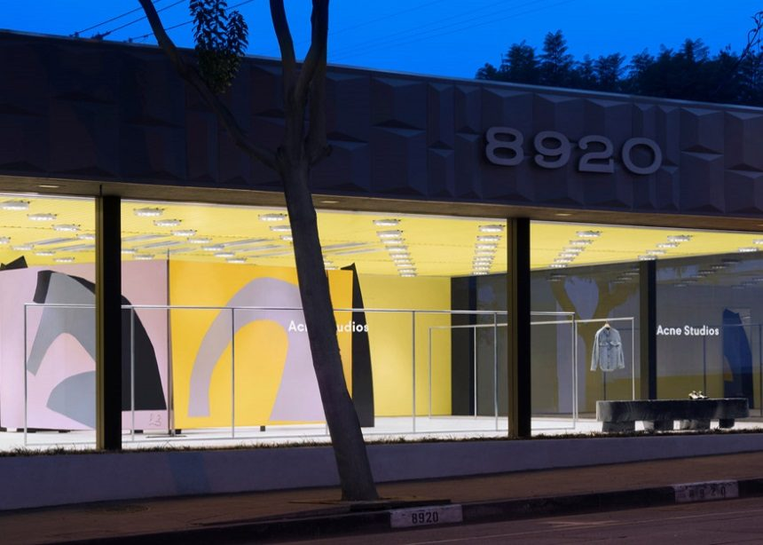 """Το νέο κατάστημα των Acne Studios στο L.A. είναι ένα μικρό """"διαμάντι"""" σύγχρονης τέχνης   tlife.gr"""