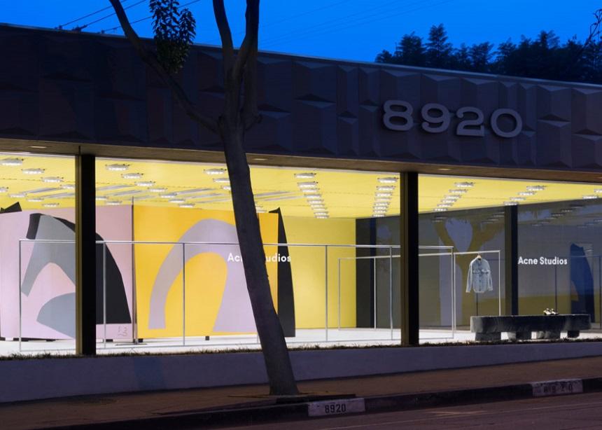 """Το νέο κατάστημα των Acne Studios στο L.A. είναι ένα μικρό """"διαμάντι"""" σύγχρονης τέχνης"""