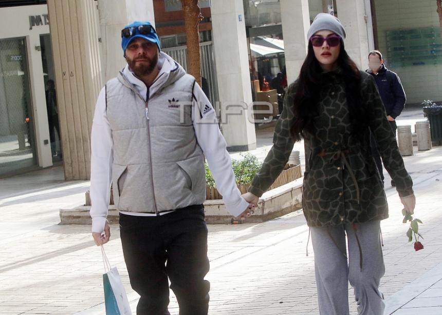 Ήβη Αδάμου: Βόλτες με τον σύντροφό της στον 6ο μήνα της εγκυμοσύνης της!   tlife.gr