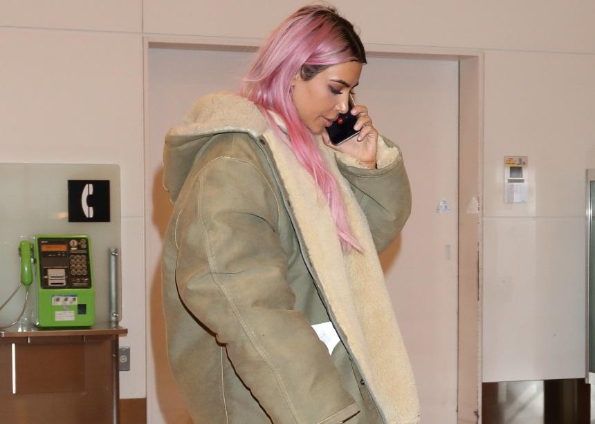 Η Kim Kardashian πρωταγωνιστεί στην 7η συλλογή των Yeezy φωτογραφημένη από… παπαράτσι