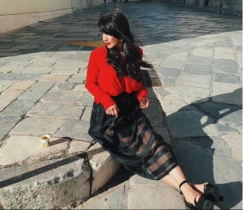 Κόνι Μεταξά: O λόγος που επισκέφτηκε την υπέροχη Σύρο! [pics] | tlife.gr
