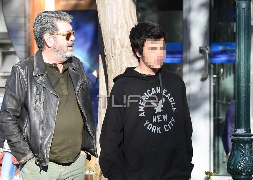 Γιάννης Λάτσιος: Βόλτα στα βόρεια προάστια με τον γιο του Άγγελο! [pics] | tlife.gr