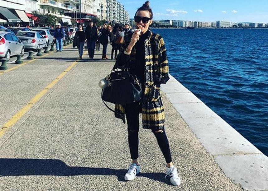 Μπέττυ Μαγγίρα: Η καθημερινότητά της στη Θεσσαλονίκη   tlife.gr
