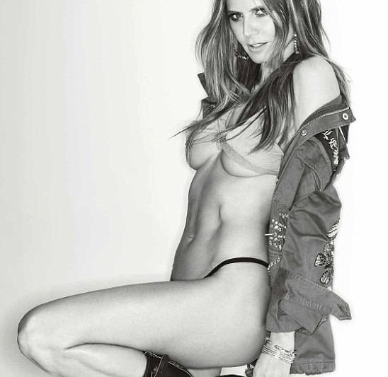 Heidi Klum: Ποζάρει topless για γνωστό περιοδικό στα 44 και είναι σέξι όσο ποτέ! [pics]