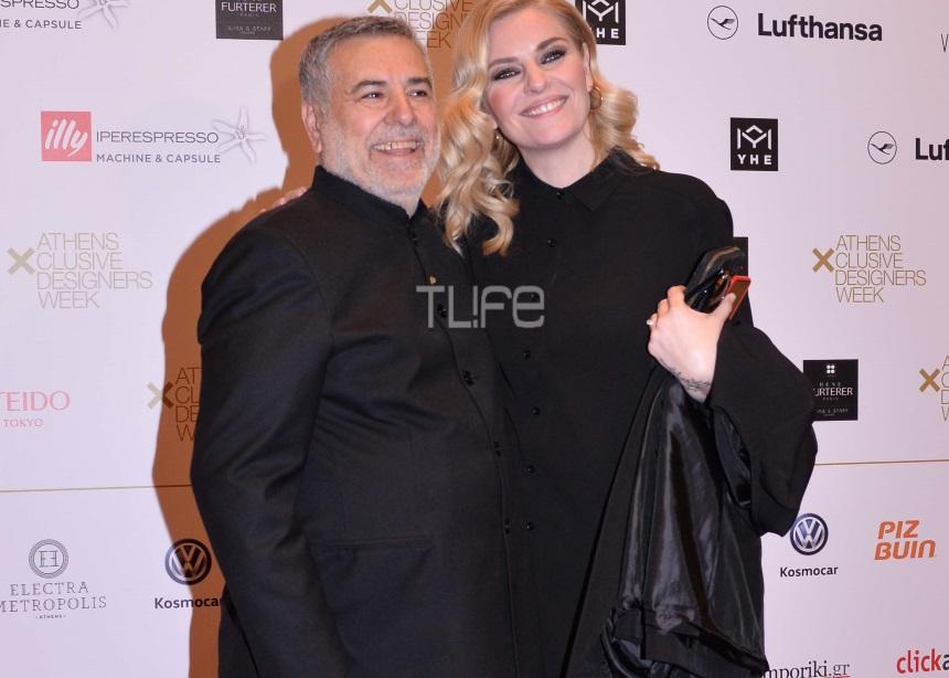 Ελισάβετ Μουτάφη: Με τον σύντροφό της στο fashion show του θείου της Μάκη Τσέλιου! [pics]