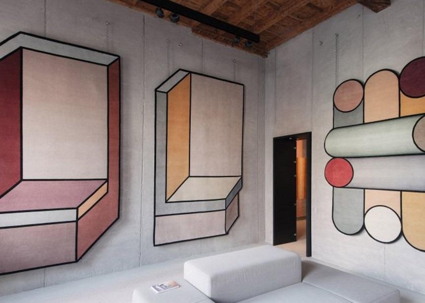 Οι οπτικές ψευδαισθήσεις της Patricia Urquiola σε μια νέα συλλογή χαλιών | tlife.gr