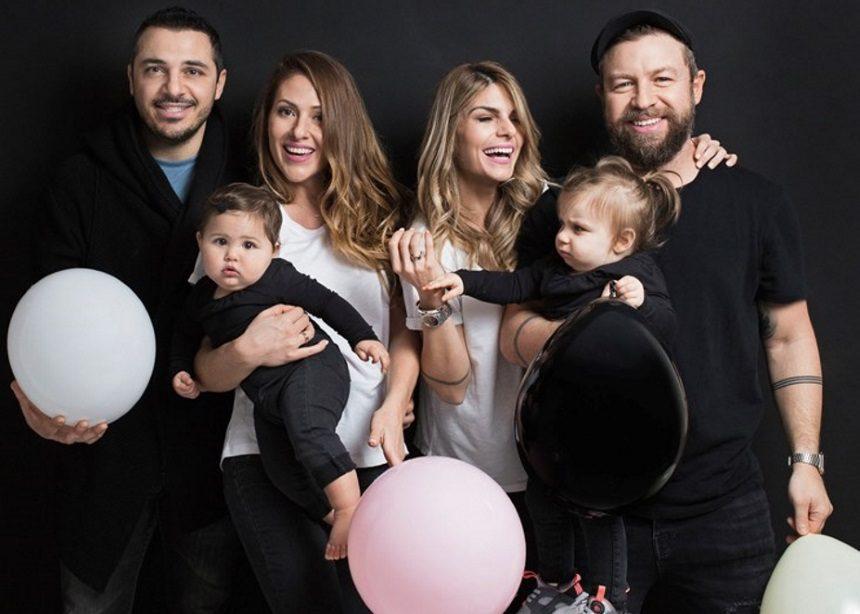 Νατάσα Σκαφίδα – Μαρία Δεληθανάση: Φωτογραφίζονται με τις κόρες και τους συζύγους τους με αφορμή τη συνεργασία τους | tlife.gr