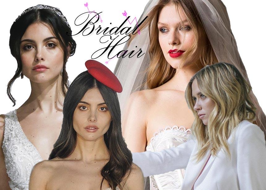 Νυφικά χτενίσματα: 23 ιδέες κατευθείαν από τις bridal πασαρέλες! | tlife.gr