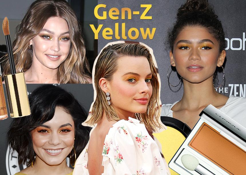 Ξέχασε το millennial pink! Το Gen-Z Yellow είναι το νέο χρώμα που πρέπει να προσθέσεις και στο μακιγιάζ σου!