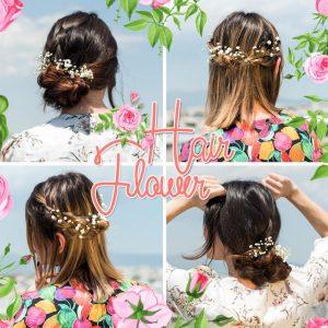 Πώς να φορέσεις ανθάκια στα μαλλιά όπως τα βλέπεις στο Pinterest!