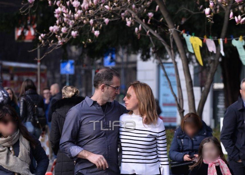 Κώστας Κρομμύδας – Μαρίνα Γιώτη: Ερωτευμένοι στο Μιλάνο! [pics] | tlife.gr