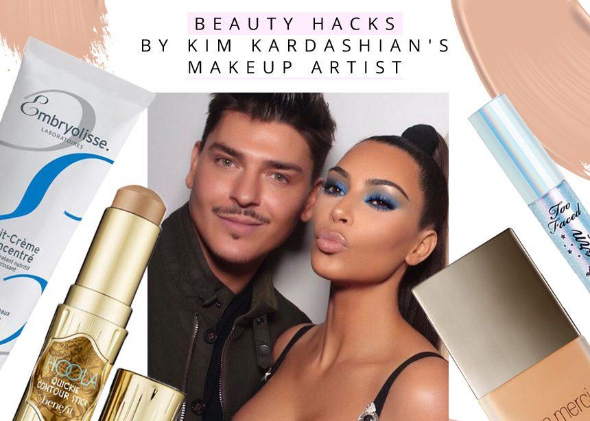 Beauty hacks από τον makeup artist της Kim Kardashian! Καμιά μας δεν θα πει όχι!   tlife.gr