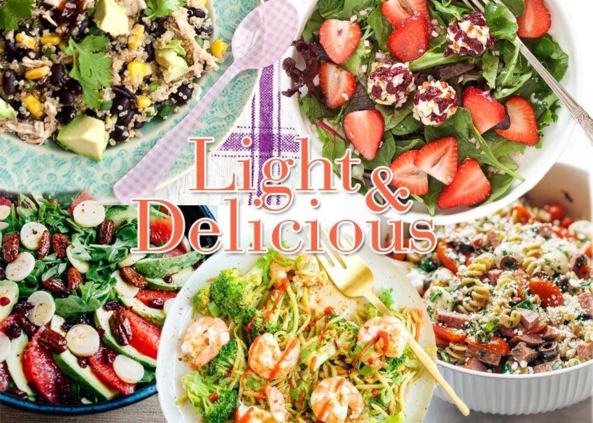 Συνταγές για δίαιτα: Ανοιξιάτικες σαλάτες με λίγες θερμίδες | tlife.gr