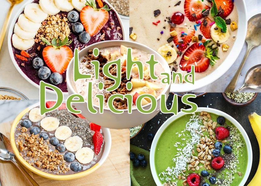 Συνταγές με λίγες θερμίδες για να φτιάξεις μόνη σου τα smoothie bowls που βλέπεις στο instagram | tlife.gr