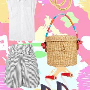 Το lux navy shorts