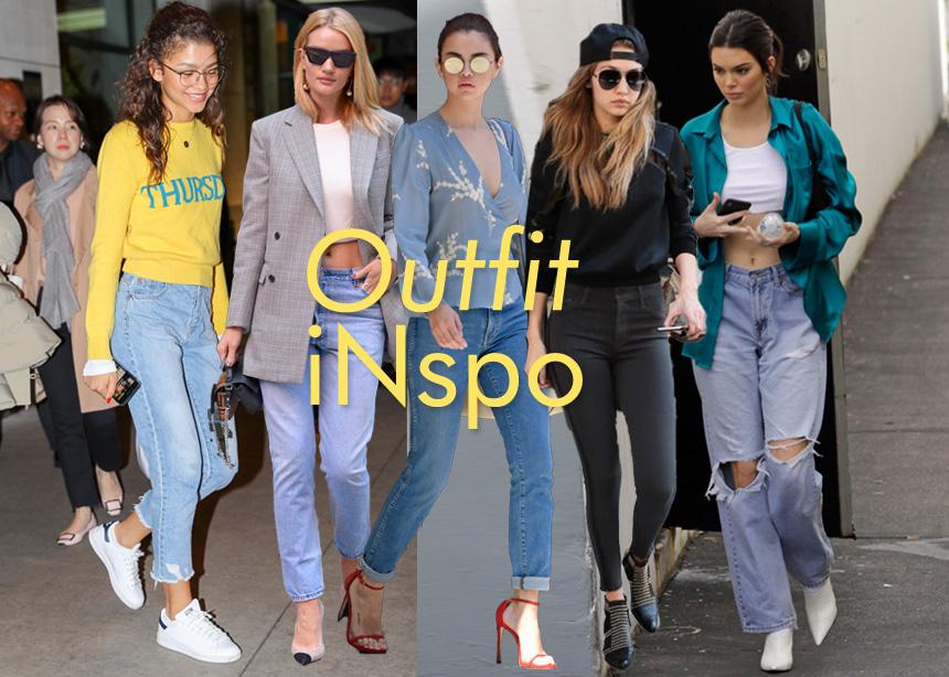 Πως φοράνε οι διάσημες το τζιν τους; Πάρε ιδέες και δημιούργησε μοναδικά looks | tlife.gr