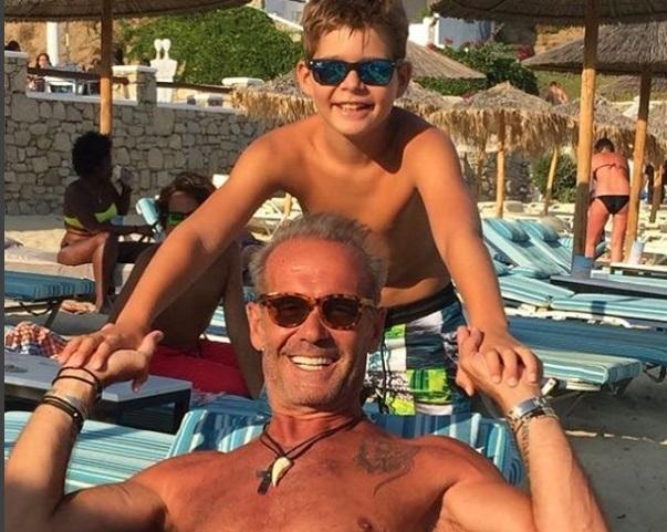 Πέτρος Κωστόπουλος: Στο λούνα παρκ με τον γιο του Μάξιμο! Bίντεο | tlife.gr