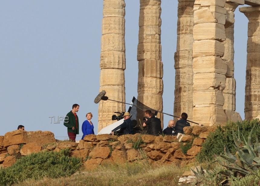 To Σούνιο πρωταγωνιστεί σε νέα σειρά του BBC- Φωτογραφίες από τα γυρίσματα | tlife.gr