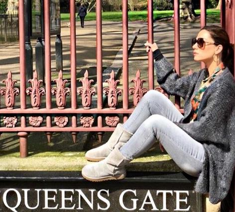 Βάσω Λασκαράκη: Νέες φωτογραφίες από το ταξίδι της στο Λονδίνο!