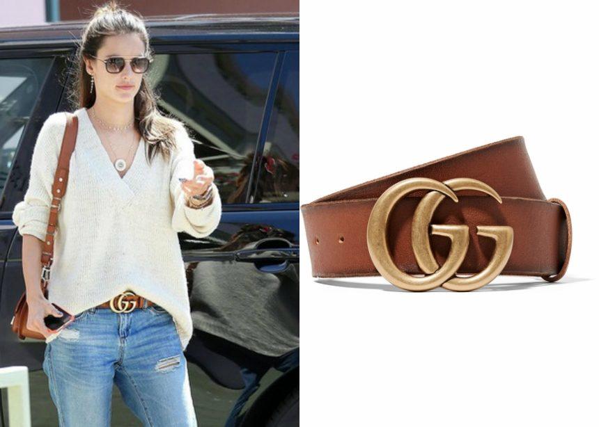 Οδηγός Αγοράς: Ξέρουμε που θα βρεις τη Gucci ζώνη που φοράει η Alessandra Ambrosio | tlife.gr