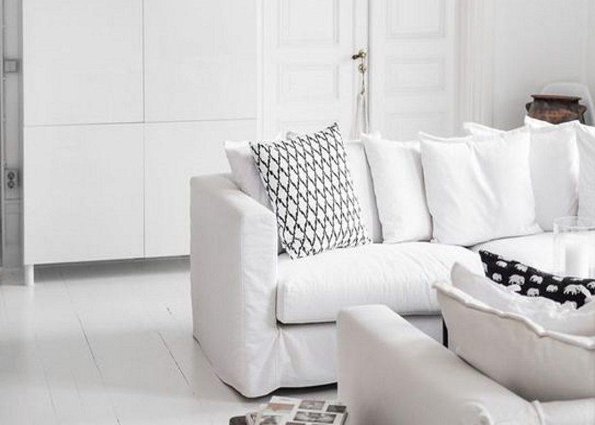 Διακοσμώντας με λευκό χρώμα: Πέντε τρόποι να δώσεις περισσότερο στυλ στο ολόλευκο σπίτι σου   tlife.gr