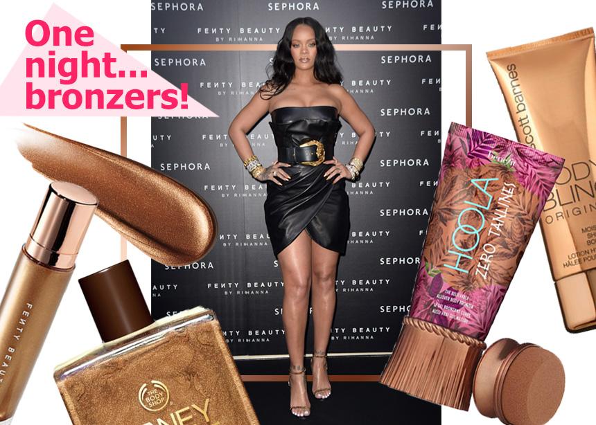 5 bronzers σώματος που μοιάζουν με το νέο προϊόν της Rihanna! Χαρίζουν sexy μαύρισμα, φεύγουν με το ντους!